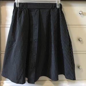 NWOT Pinstripe Skirt