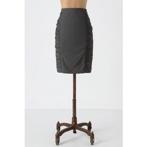 cartonnier acting out ruched pencil skirt