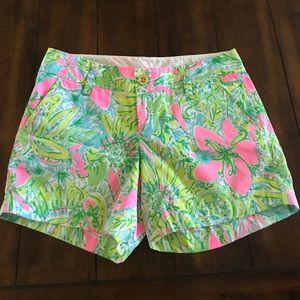 Lilly Pulitzer Coconut Jungle Callahan shorts