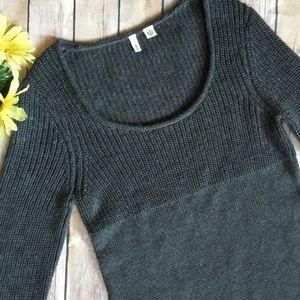 Moth Gray Sweater Dress