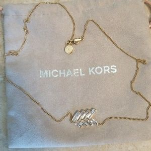 Michael kors arrow necklace