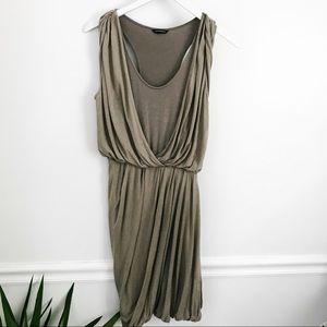 Club Monaco Drape Dress