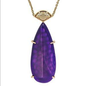 Kendra Scott Purple Agate Bailey Pendant!