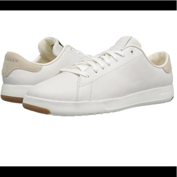 cole haan women's grandpro tennis leather lace ox fashion sneaker
