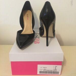 """Brand new """"Mavvis"""" heels from JustFab."""