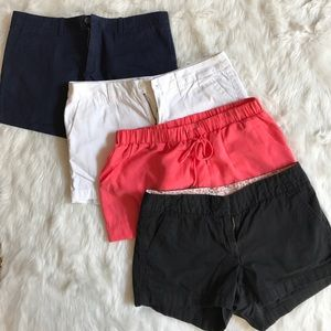 Bundle of shorts from Gap and Jcrew and target