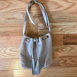 J.Crew Leather Bucket Bag