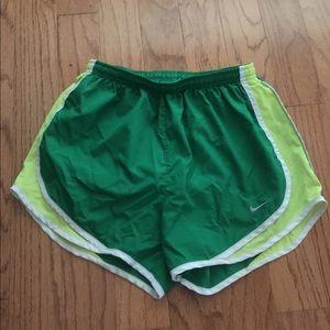 Nike dri fit tempo shorts