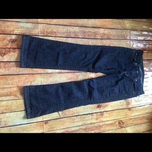 J.crew bootcut dark wash jeans