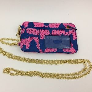 "LILLY PULITZER ""Pack the Trunk"" Elephant Crossbody"