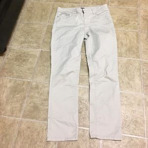 NYDJ khaki chino cotton jeans 10p slim