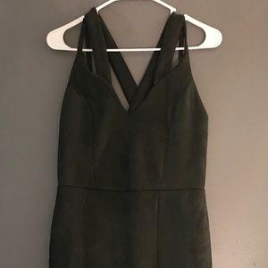 Gianni bini suade dress