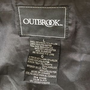 Outbrook Jackets & Coats - Belted coat with faux fur collar.