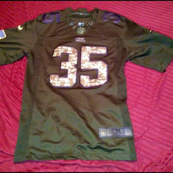 huge selection of 64365 68ce4 OFFICIAL NFL PANTHERS CAMO JERSEY