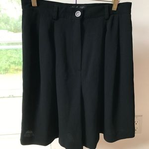 Garfield and Marks Dress Shorts Black 12