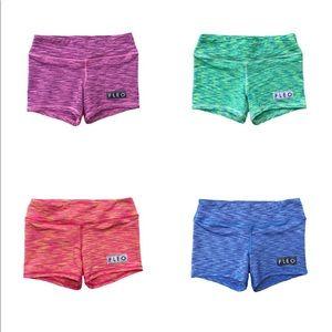 Purple fleo shorts! Never worn