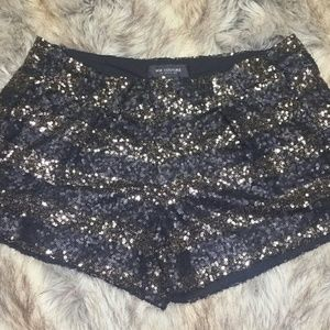MM Couture by Miss Me Sequined Club Evening Shorts