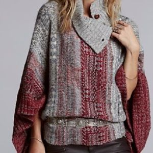 Free People Willow poncho