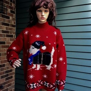 Vintage Ralph Lauren holiday sweater. ( 1998)