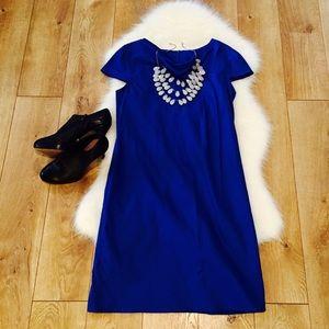 Suzi Chin for Maggie boutique•blue Sheath Dress•6