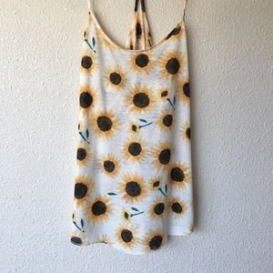 Urban Outfitters sunflower tank