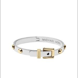 Michael Kors two tone bracelet