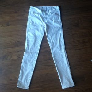 Madewell skinny jeans size 25 white ankle short