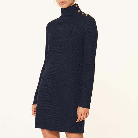 5ce5117f3b0 Tory Burch Wool Knit Sweaterdress