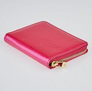 Authentic LV Fushia Zippy Wallet
