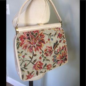 Vintage Embroidered Handbag Purse