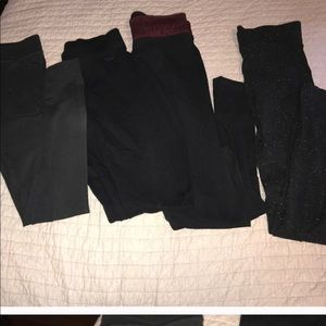 Bundle of 4 leggings!