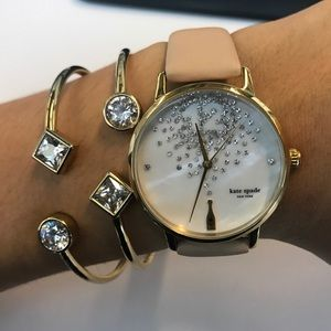 Kate Spade Champagne at Midnight Watch