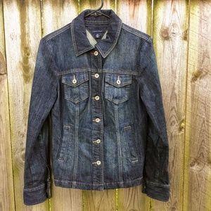 Tommy Hilfiger Denim Jacket Classic Dk Blue Size M