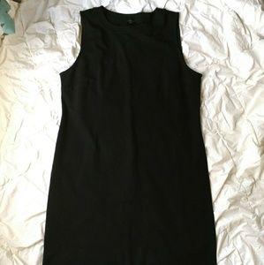 Talbots black cocktail sleeveless dress
