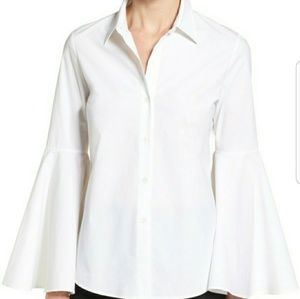 Vince Camuto Bell Sleeve Button Down Shirt