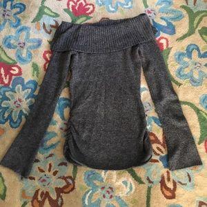 L Loverocks off shoulder sweater