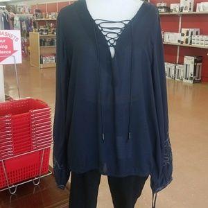 Jessica Simpson brand boho top