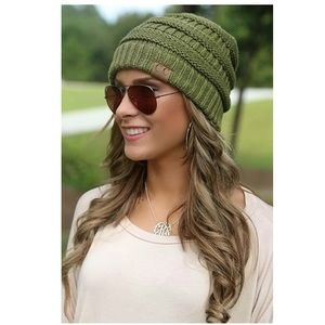 C.C Beanie! Must have! 💚