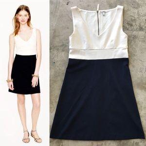 J. Crew Colorblock Ponte Dress, Like New