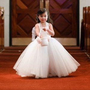 5da0d7a46d Anthropologie Dresses - BHLDN Hattie Dress  Ivory   Flower Girl Dress