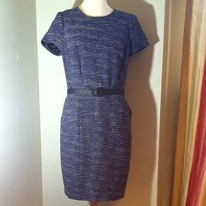 Dress Boden midi length with pockets.
