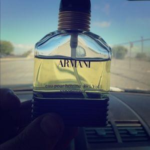Armani eau pour homme vaporisateur
