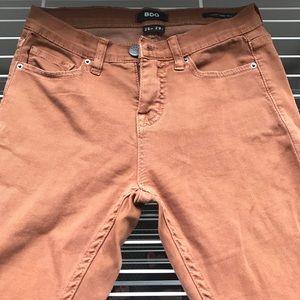 BDG burnt orange skinny jeans
