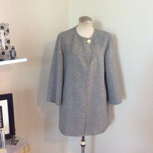 Zara Wool Gray Coat