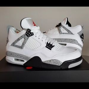 Other - Retro 4 White cement (801) 829-1909 TO PURCHASE!!