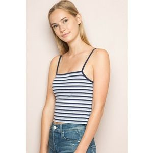 The Strong, Silent Stripe Tank