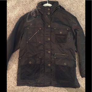 Great Emanuel Ungaro Nylon Cool Weather Jacket