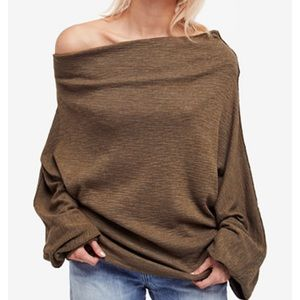 NWT Free People Skyline thermal sweater size M