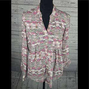 Maeve By Anthropologie Blouse Size Small Hi Low