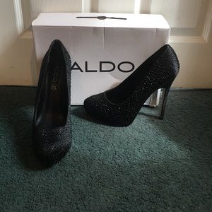 Also black heels size 10
